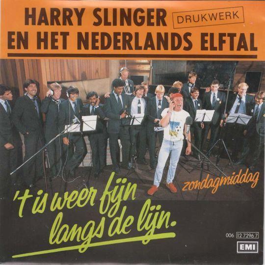 Coverafbeelding 't Is Weer Fijn Langs De Lijn - Harry Slinger En Het Nederlands Elftal