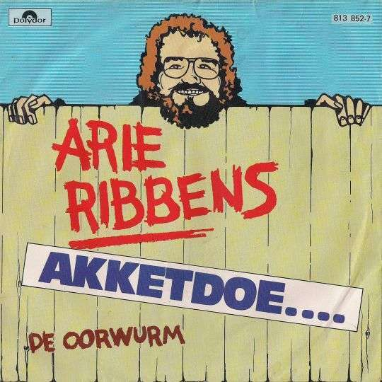 Coverafbeelding Arie Ribbens - Akketdoe....