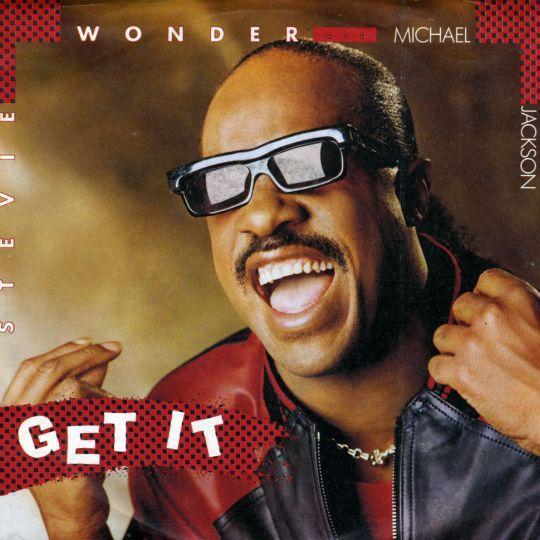 Coverafbeelding Michael Jackson and Stevie Wonder - Get It