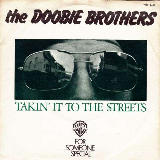 Coverafbeelding Takin' It To The Streets - The Doobie Brothers