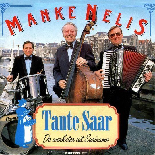 Coverafbeelding Manke Nelis - Tante Saar