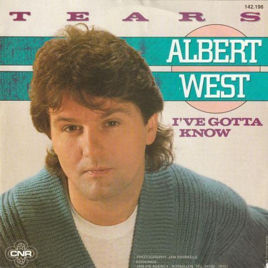 Coverafbeelding Tears - Albert West