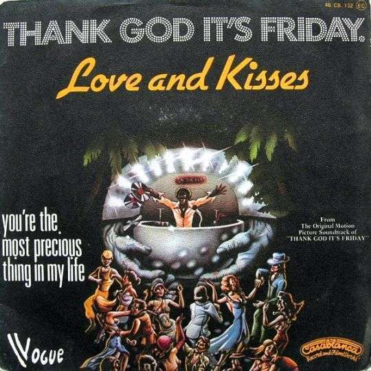 Coverafbeelding Love And Kisses - Thank God It's Friday