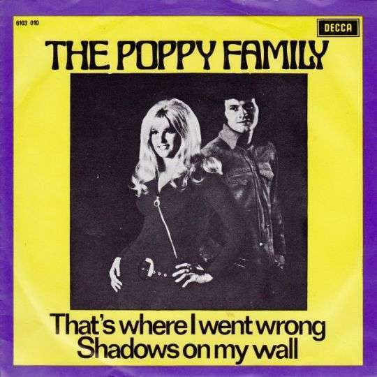 Coverafbeelding That's Where I Went Wrong - The Poppy Family