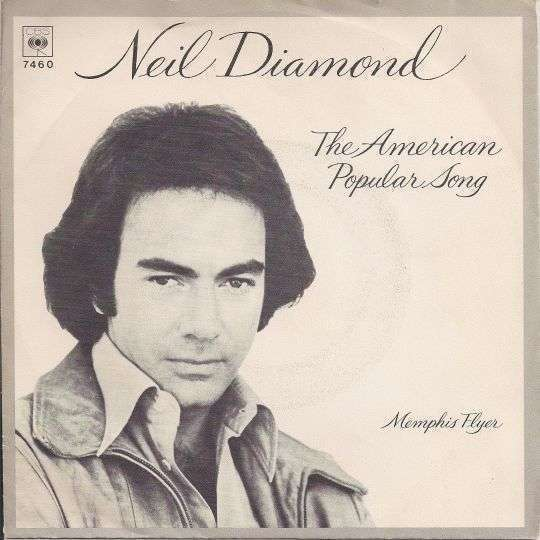 Coverafbeelding The American Popular Song - Neil Diamond