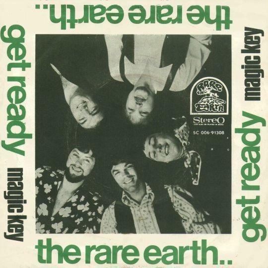 Coverafbeelding Get Ready - The Rare Earth / Rare Earth