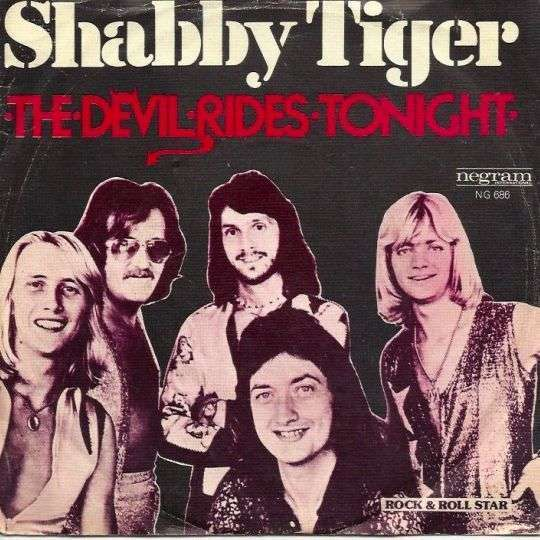 Coverafbeelding The Devil Rides Tonight - Shabby Tiger