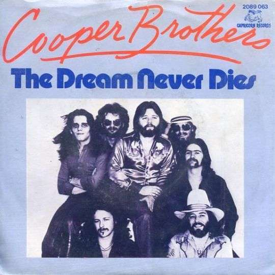 Coverafbeelding Cooper Brothers - The Dream Never Dies