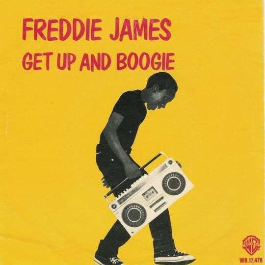 Coverafbeelding Freddie James - Get Up And Boogie