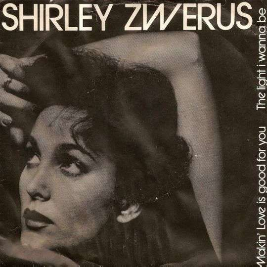Coverafbeelding Shirley Zwerus - The Light I Wanna Be