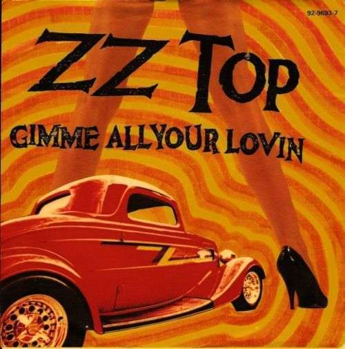 Coverafbeelding ZZ Top - Gimme All Your Lovin'
