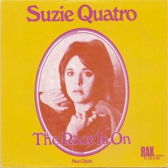 Coverafbeelding The Race Is On - Suzie Quatro