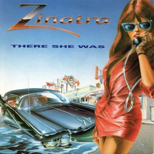 Coverafbeelding Zinatra - There She Was