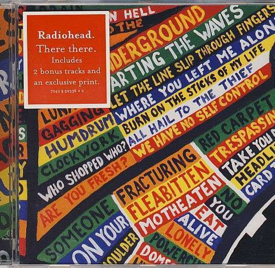 Coverafbeelding There There - Radiohead