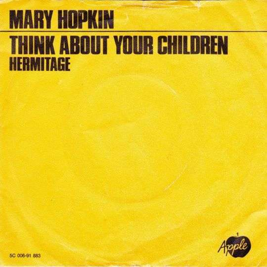 Coverafbeelding Think About Your Children - Mary Hopkin