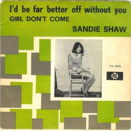 Coverafbeelding Girl Don't Come - Sandie Shaw