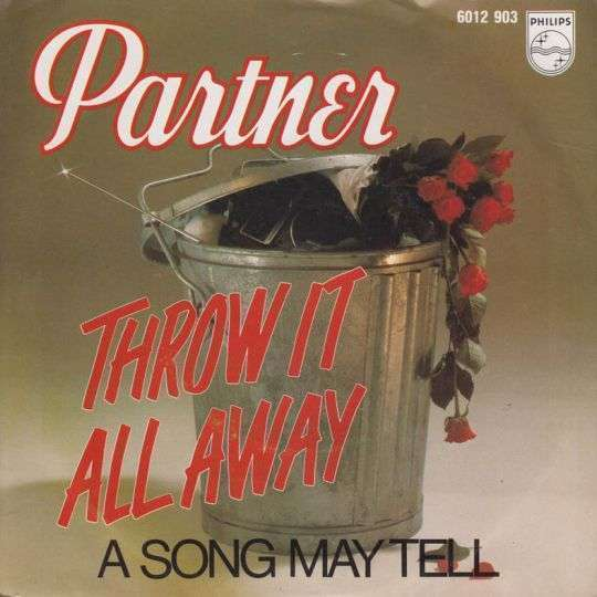 Coverafbeelding Throw It All Away - Partner