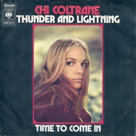 Coverafbeelding Thunder And Lightning - Chi Coltrane