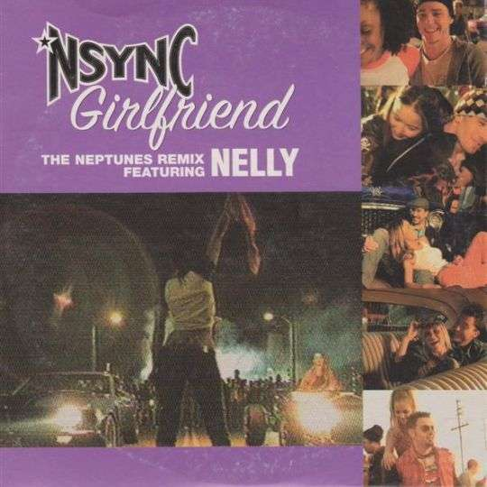 Coverafbeelding *Nsync featuring Nelly - Girlfriend - The Neptunes Remix