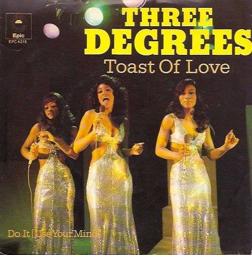 Coverafbeelding Toast Of Love - Three Degrees