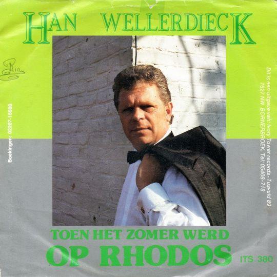 Coverafbeelding Toen Het Zomer Werd Op Rhodos - Han Wellerdieck