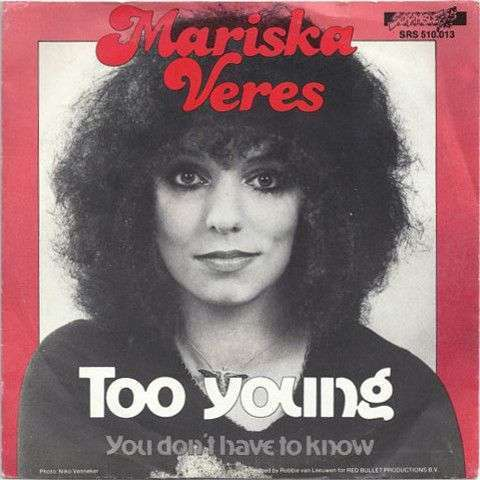 Coverafbeelding Too Young - Mariska Veres