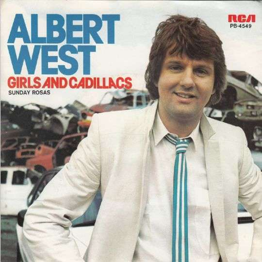 Coverafbeelding Girls And Cadillacs - Albert West