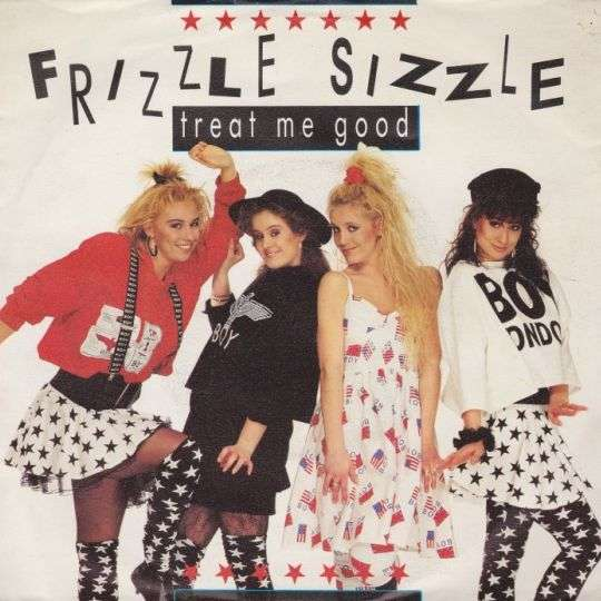 Coverafbeelding Treat Me Good - Frizzle Sizzle