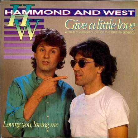 Coverafbeelding Hammond and West with The Junior Choir Of The British School - Give A Little Love