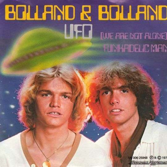 Coverafbeelding Ufo (We Are Not Alone) - Bolland & Bolland