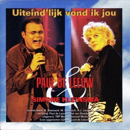 Coverafbeelding Uiteind'lijk Vond Ik Jou - Paul De Leeuw & Simone Kleinsma