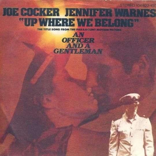 Coverafbeelding Up Where We Belong - Joe Cocker & Jennifer Warnes