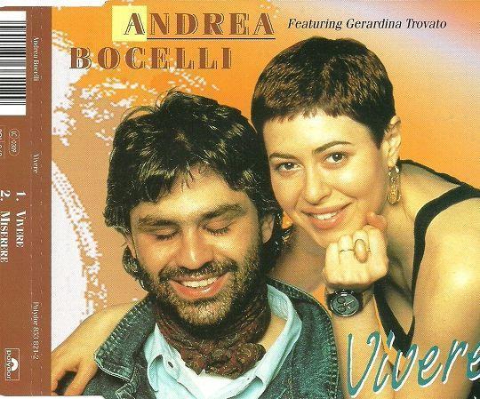 Coverafbeelding Vivere - Andrea Bocelli Featuring Gerardina Trovato