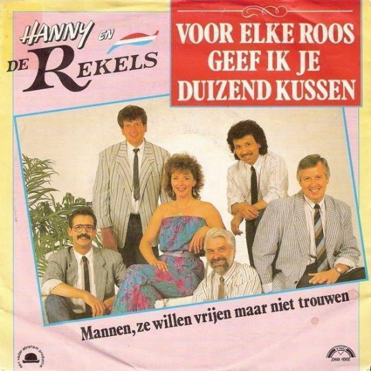 Coverafbeelding Voor Elke Roos Geef Ik Je Duizend Kussen - Hanny En De Rekels