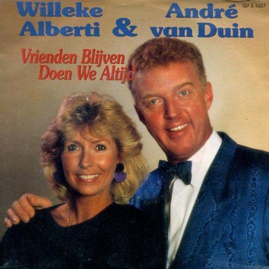 Coverafbeelding Vrienden Blijven Doen We Altijd - Willeke Alberti & André Van Duin