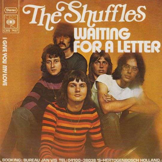 Coverafbeelding Waiting For A Letter - The Shuffles