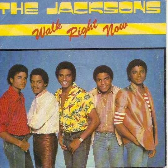 Coverafbeelding Walk Right Now - The Jacksons
