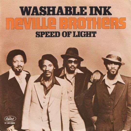 Coverafbeelding Washable Ink - Neville Brothers