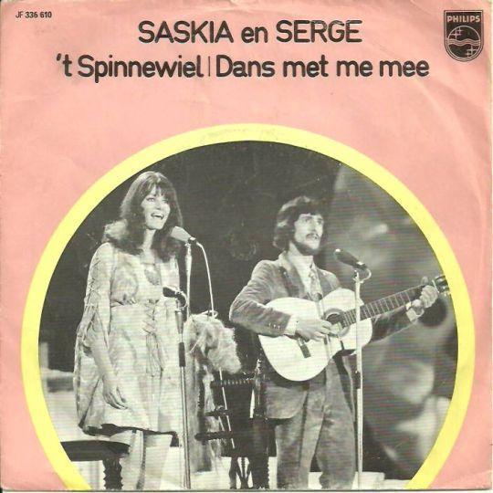 Coverafbeelding Saskia en Serge - 't Spinnewiel