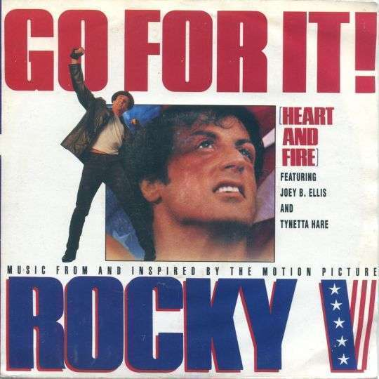 Coverafbeelding Joey B. Ellis and Tynetta Hare - Go For It! (Heart And Fire)