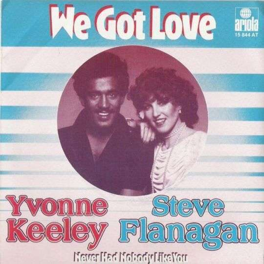 Coverafbeelding We Got Love - Yvonne Keeley & Steve Flanagan