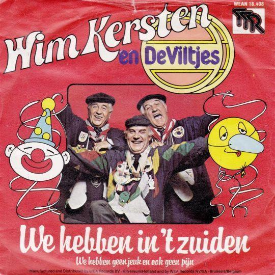 Coverafbeelding We Hebben In 't Zuiden - Wim Kersten En De Viltjes