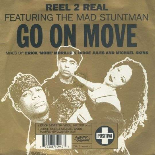 Coverafbeelding Go On Move - Reel 2 Real Featuring The Mad Stuntman