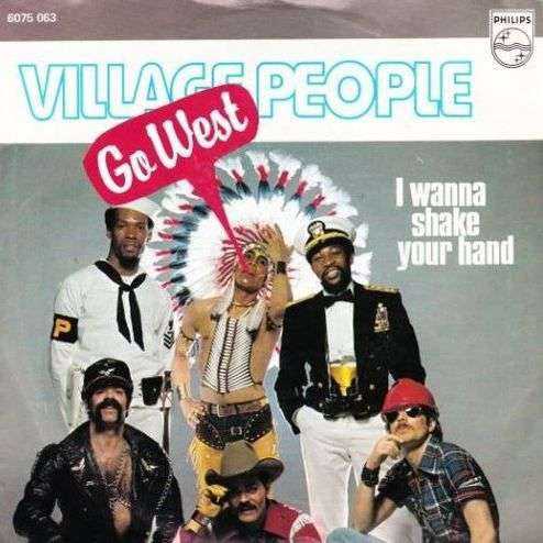 Coverafbeelding Village People - Go West