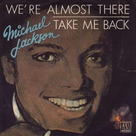 Coverafbeelding We're Almost There - Michael Jackson