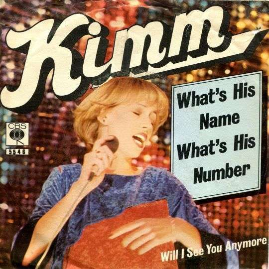 Coverafbeelding What's His Name What's His Number - Kimm