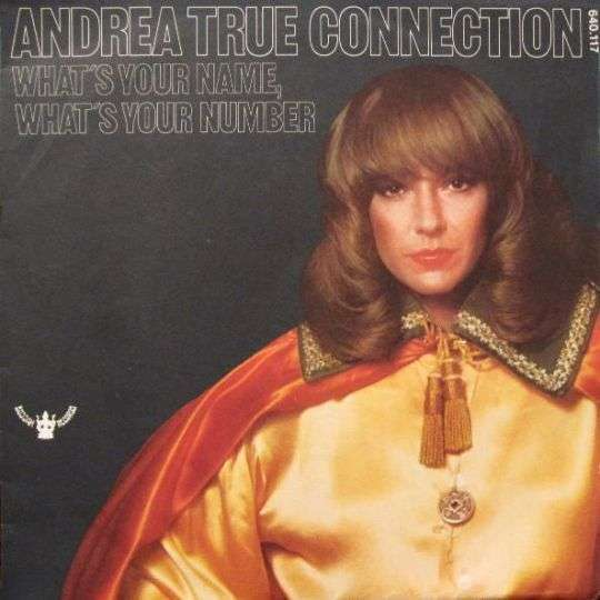 Coverafbeelding What's Your Name, What's Your Number - Andrea True Connection