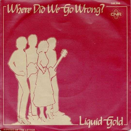 Coverafbeelding Where Did We Go Wrong? - Liquid Gold