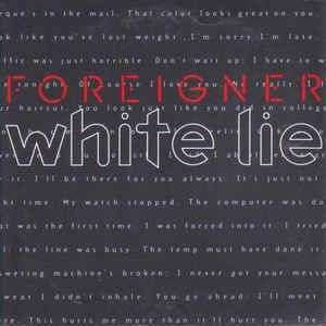 Coverafbeelding White Lie - Foreigner