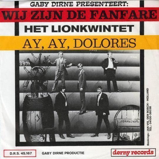 Coverafbeelding Gaby Dirne presenteert: Het Lionkwintet - Wij Zijn De Fanfare